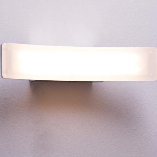 DELIFE LED-Wandleuchte Boone Silber warmweiss 15 Watt Aluminium, Wandleuchten