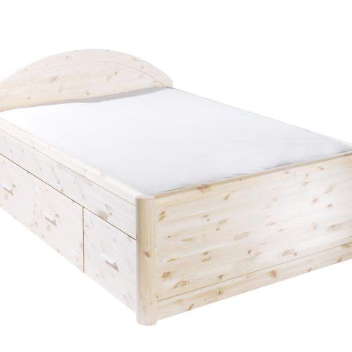 Bett Tina (180x200, weiß lackiert)