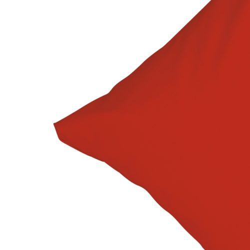 Satin-Zierkissenbezug (35x55, rot)