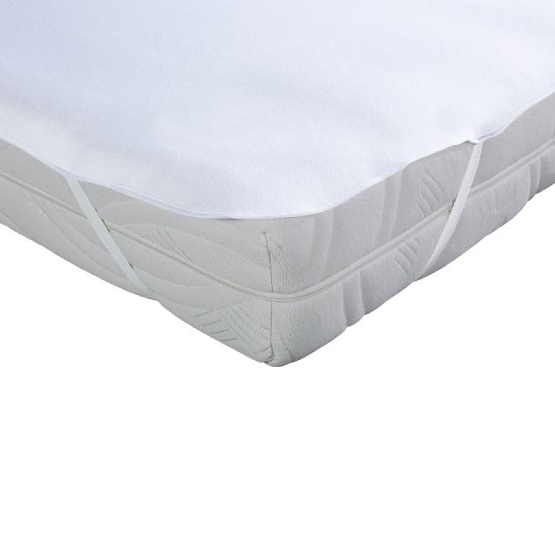 Moltonauflage mit Silvercareausrüstung (140x200, antibakteriell)