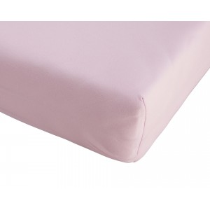 Kinder-Microfaser-Spannbettlaken (60-70x120-140, rosa)