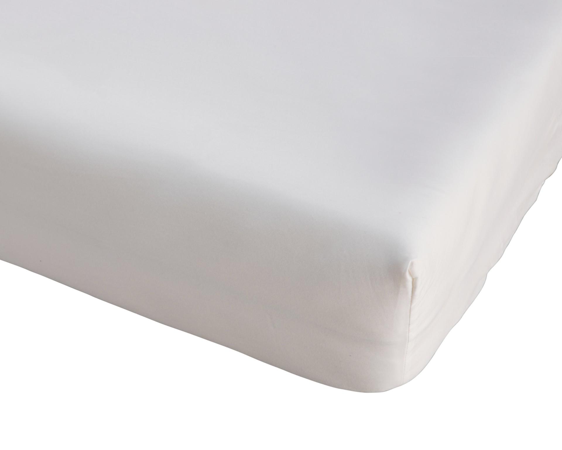 Microfaser-Spannbettlaken (140-150x200, weiß)