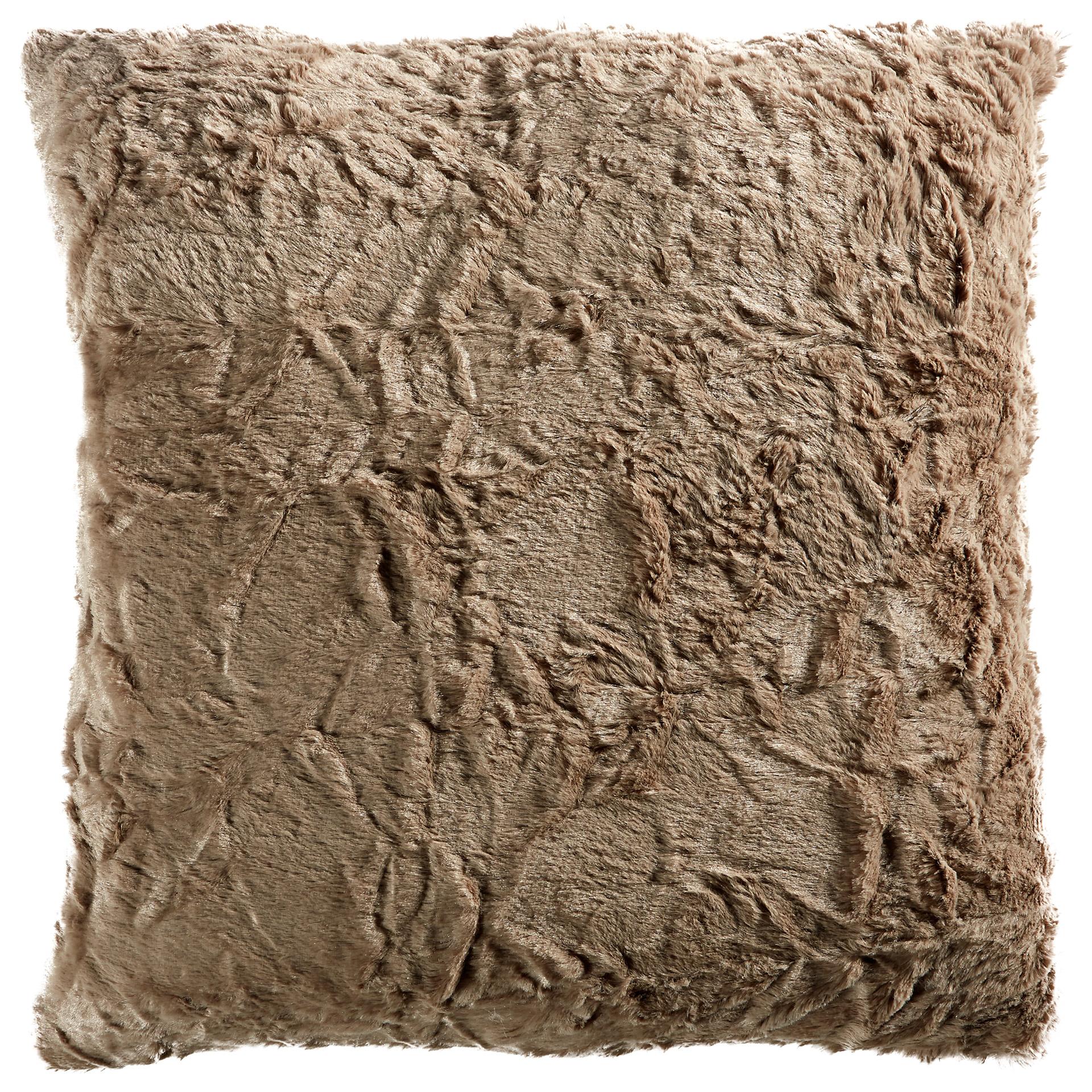 Zierkissen Fluffy (50x50, stone)