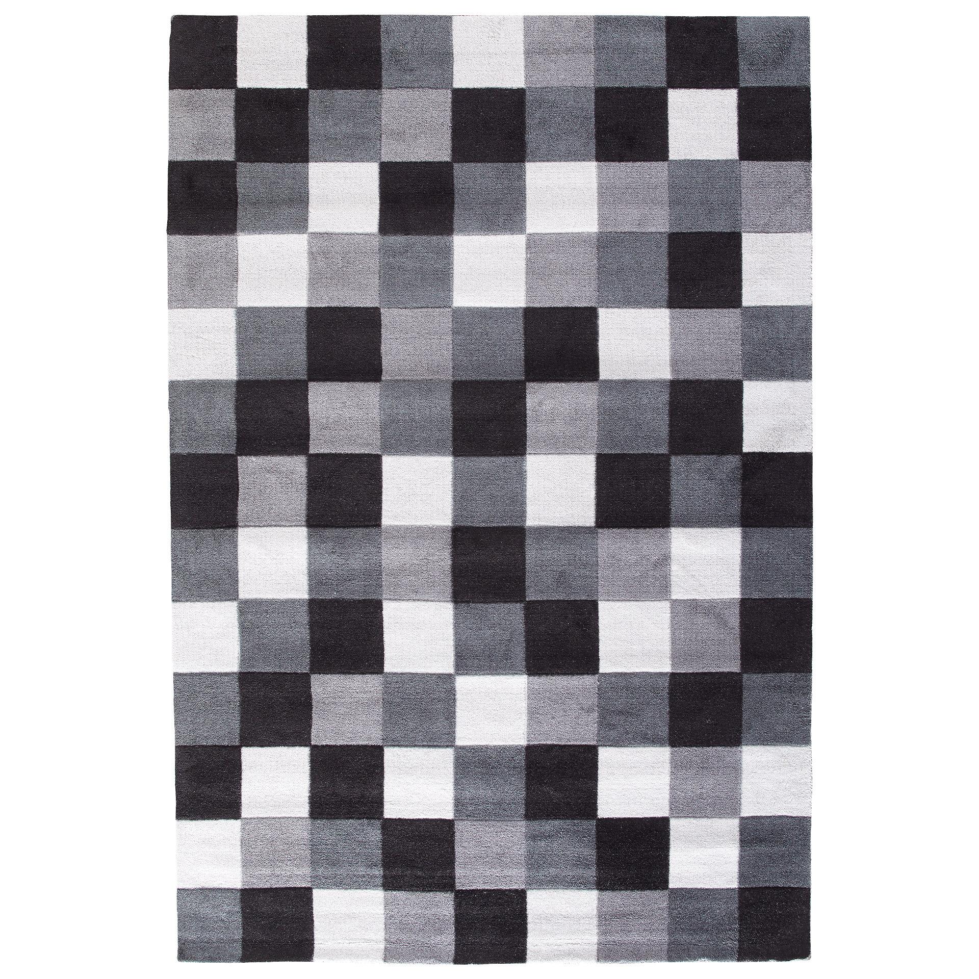 Teppich Magic (120x180, schwarz/weiß)