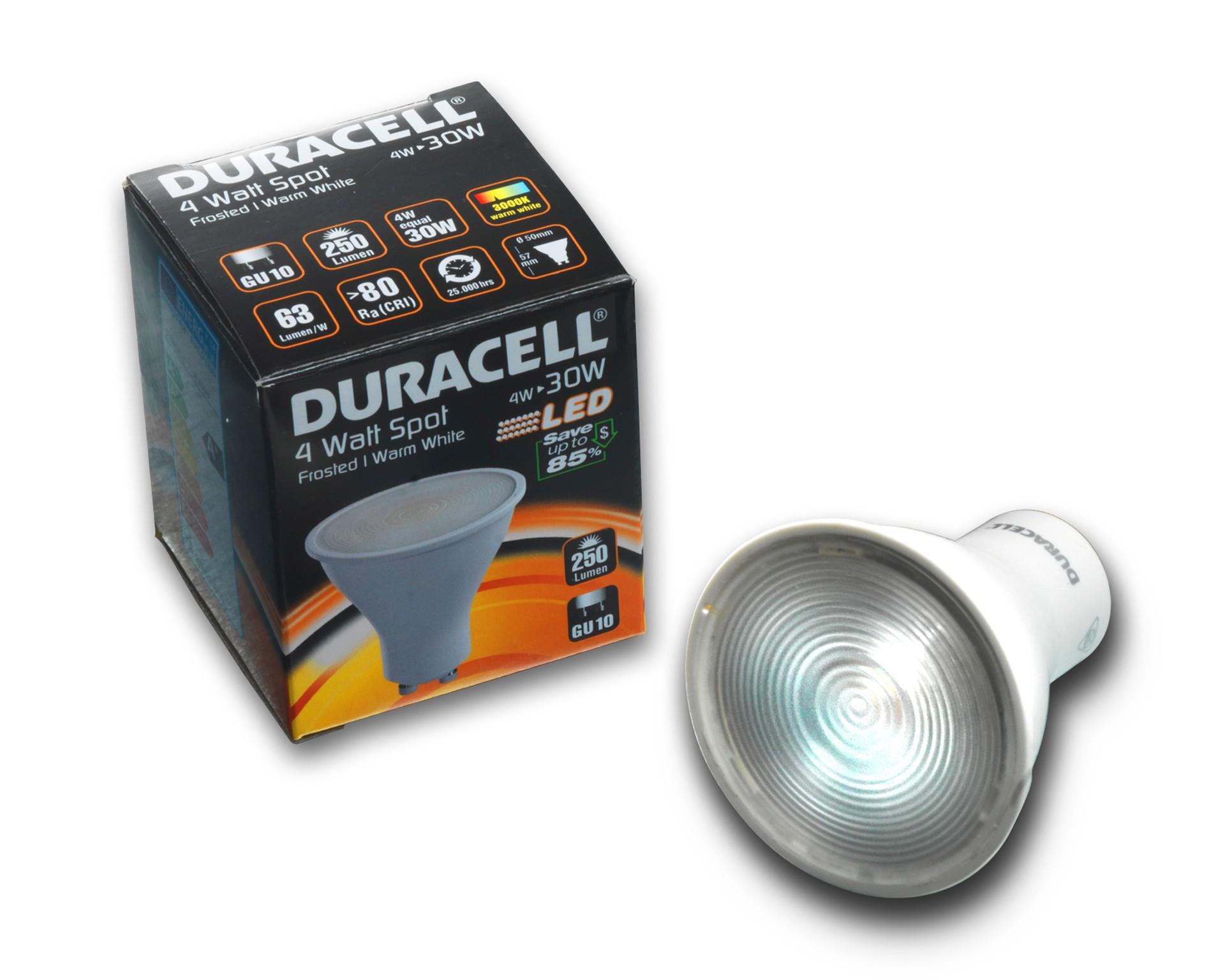 DURACELL® LED Spot (GU10, 3,5 W)