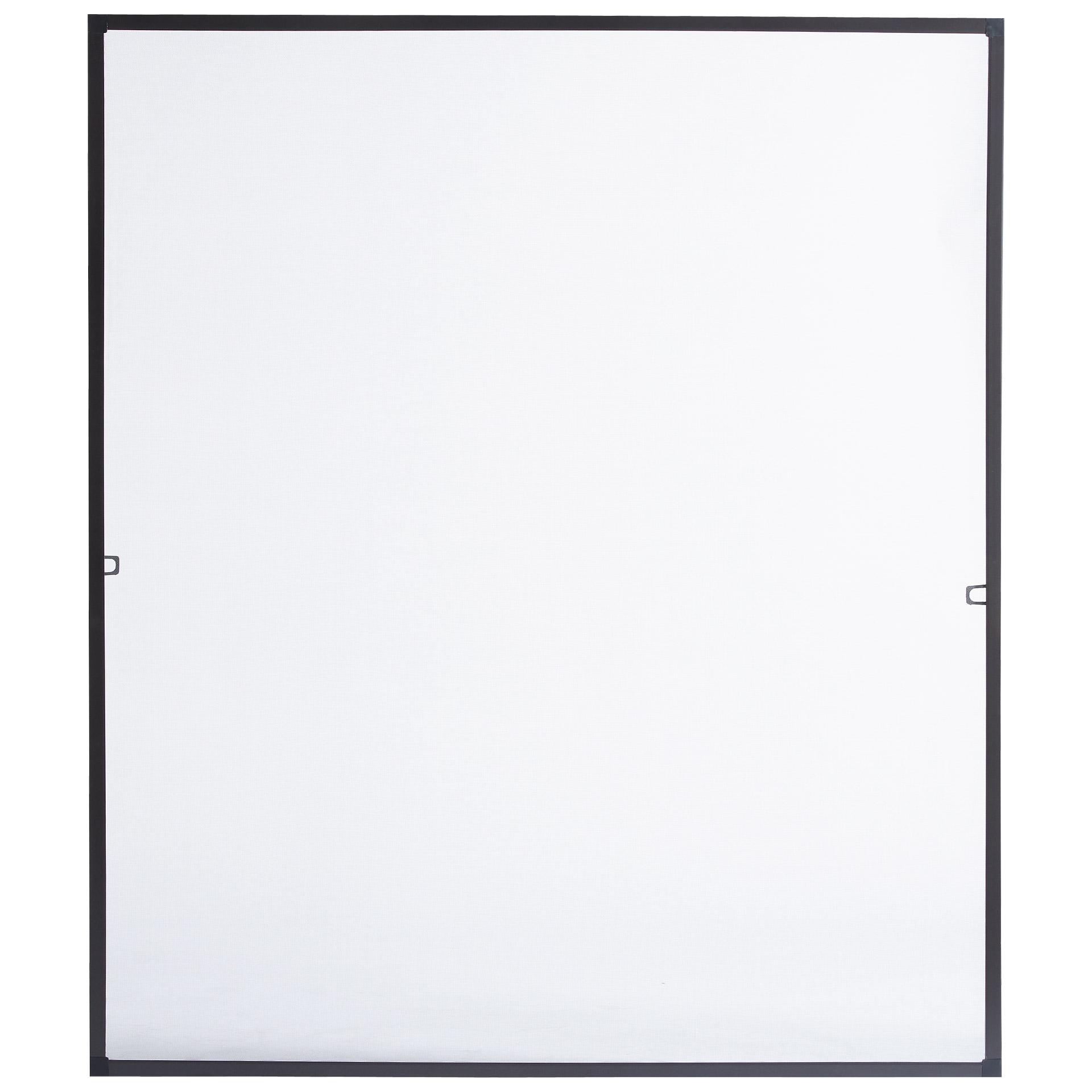 Insektenschutz-Fenster (130x150, braun)