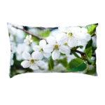 Microfaser-Zierkissen Spring Kirschblüte (30x50)