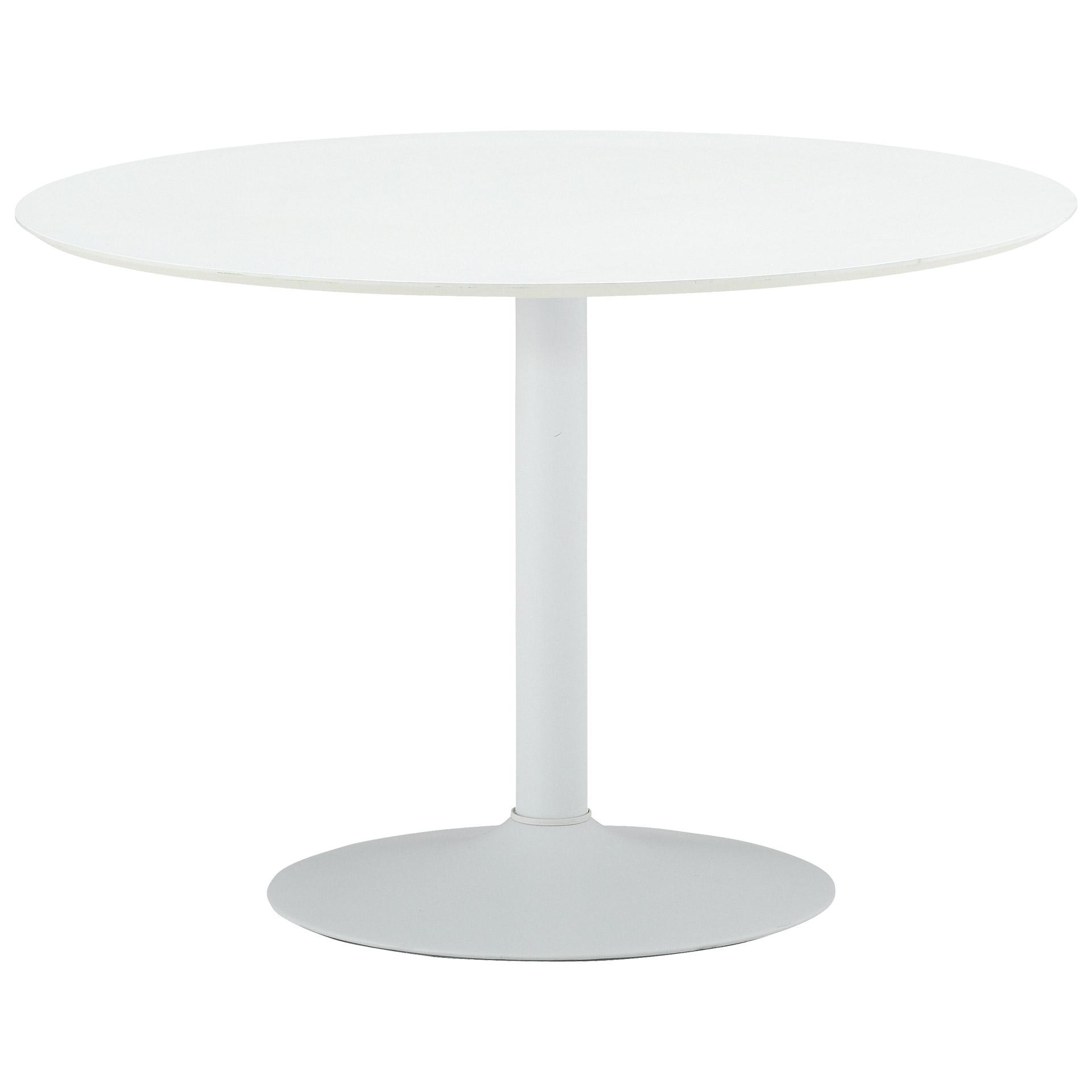 Esstisch Ibiza (ø 110 cm, rund, weiß)