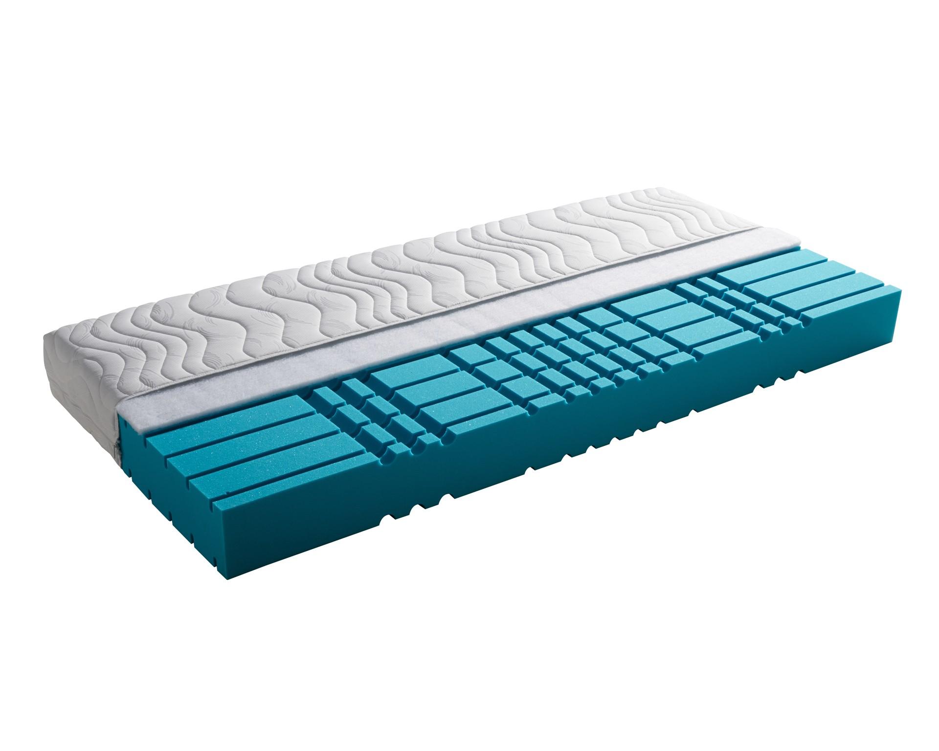 SCHLARAFFIA® Ultra Fresh 7-Zonen-Komfortschaummatratze (100x200, H2)