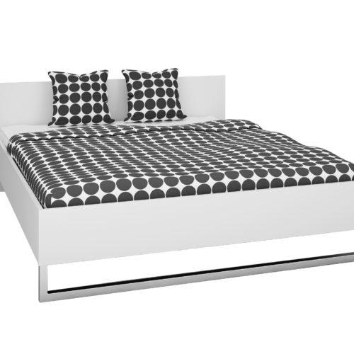 Bett Style (140x200, weiß)