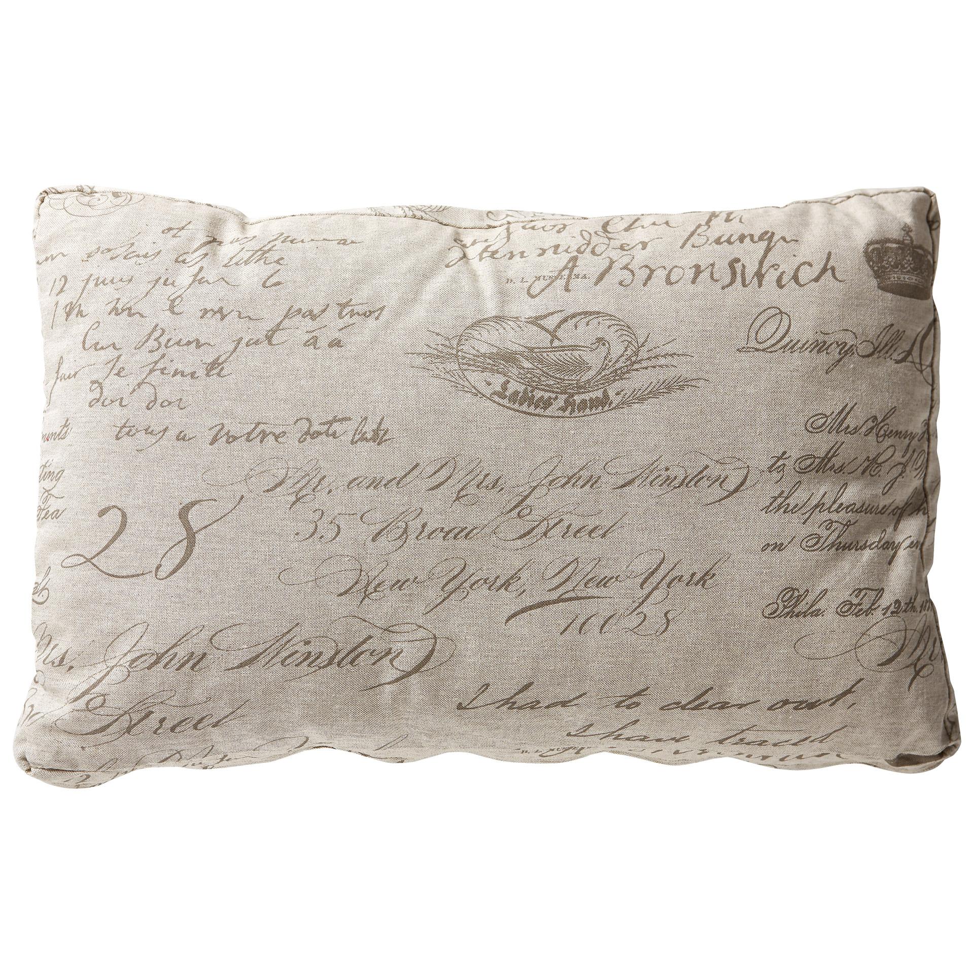 Zierkissen Amelie (40x60, taupe)