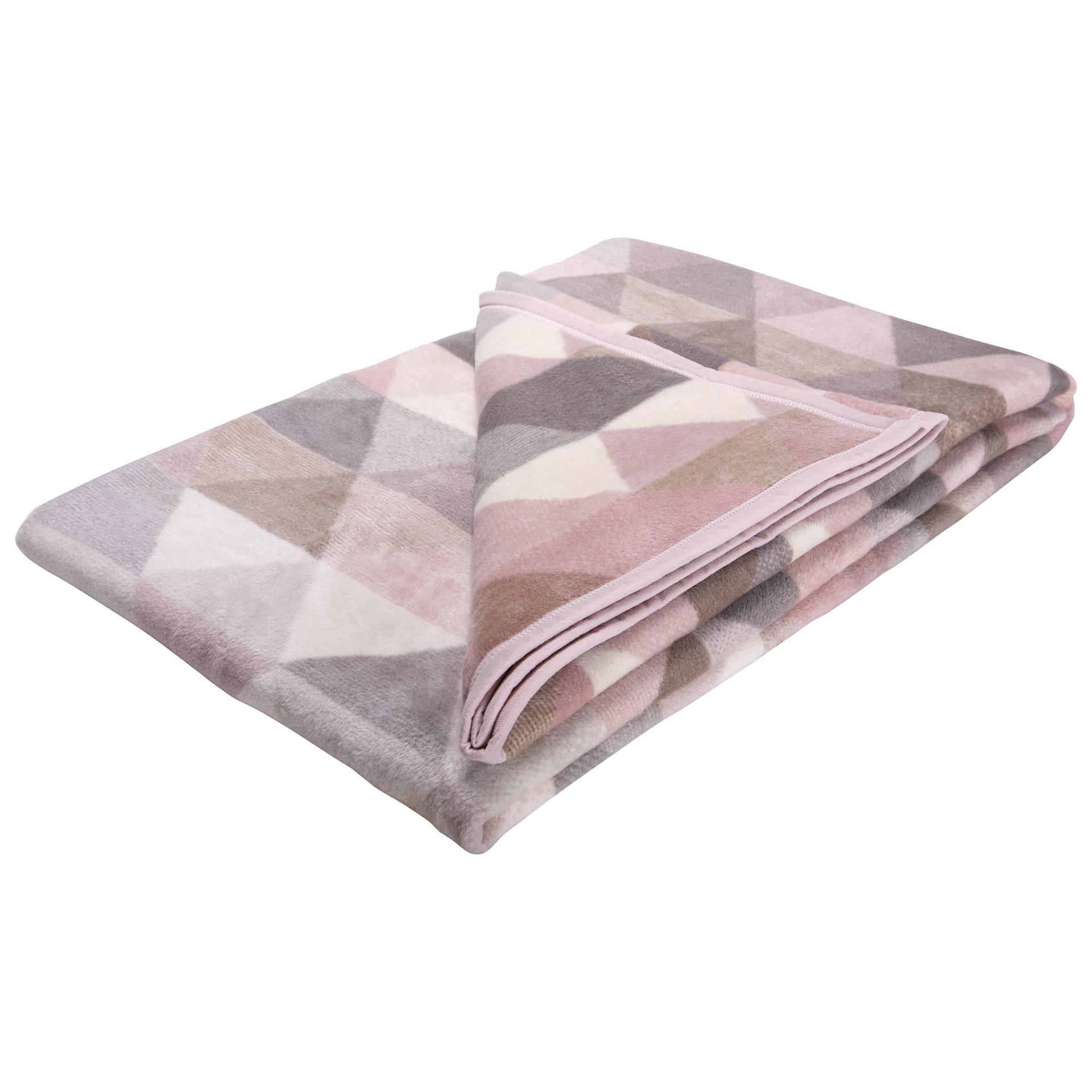 Schlafdecke Cotton Home Thermosoft (150x200, Rauten)