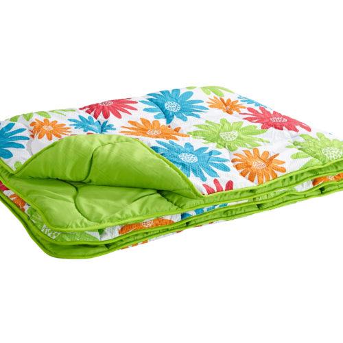 ErgoMAXX® Flower Sommer-Steppbett (135x200, Blumenprint)