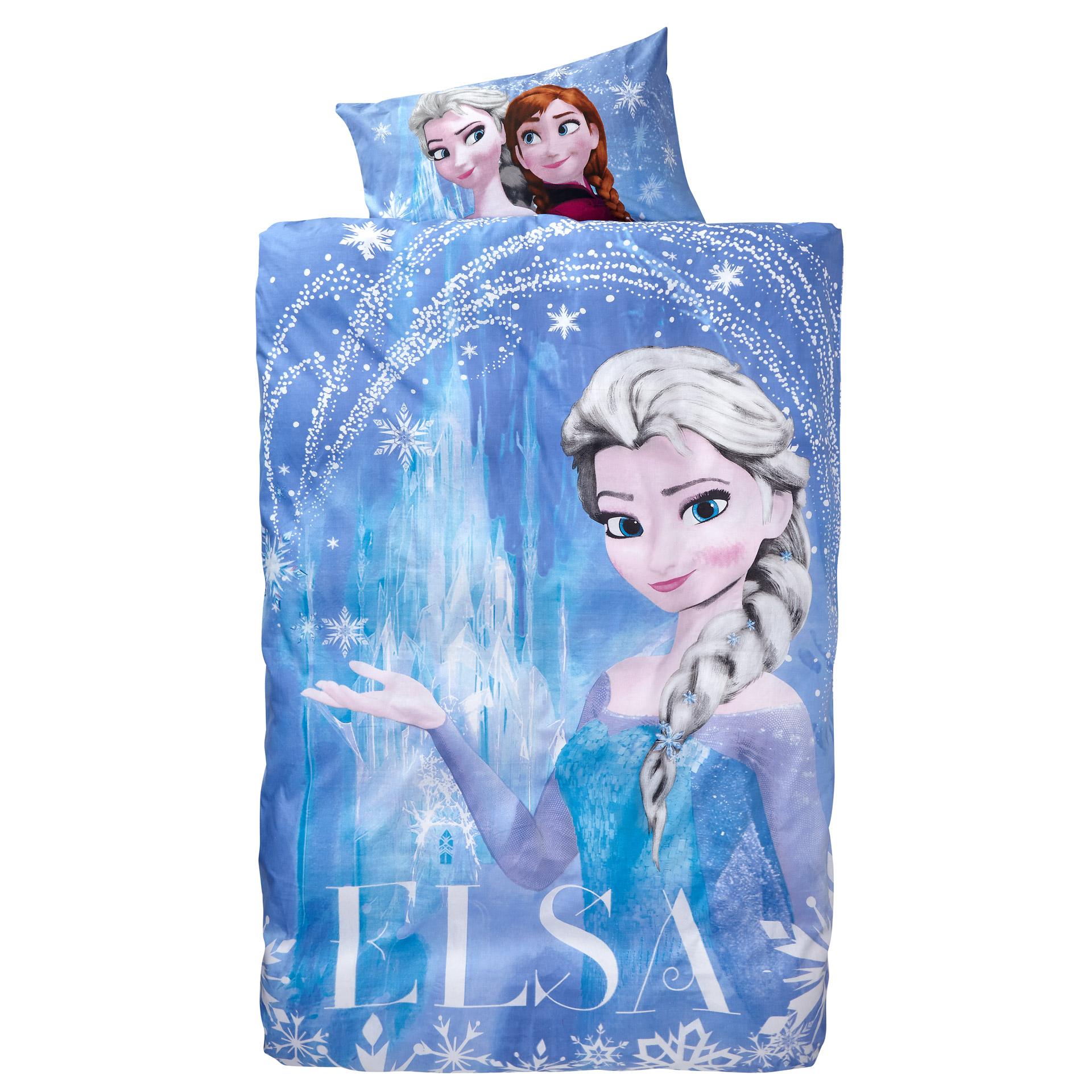 Kinderbettwäsche Eiskönigin Elsa (135x200)