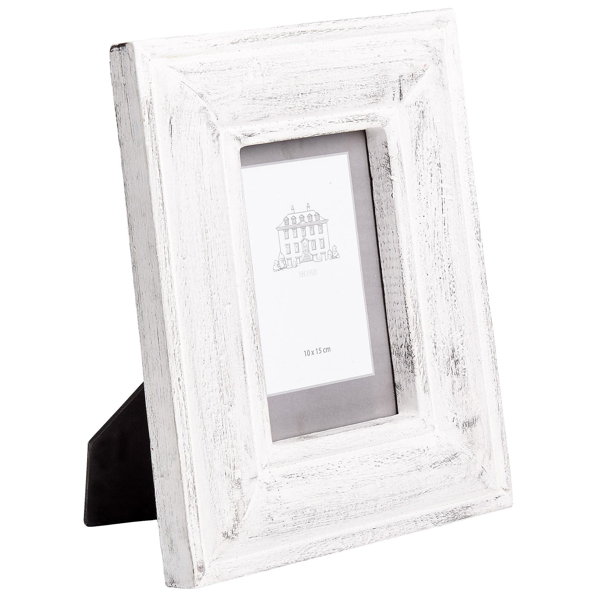 Holz-Bilderrahmen (10x15, weiß)