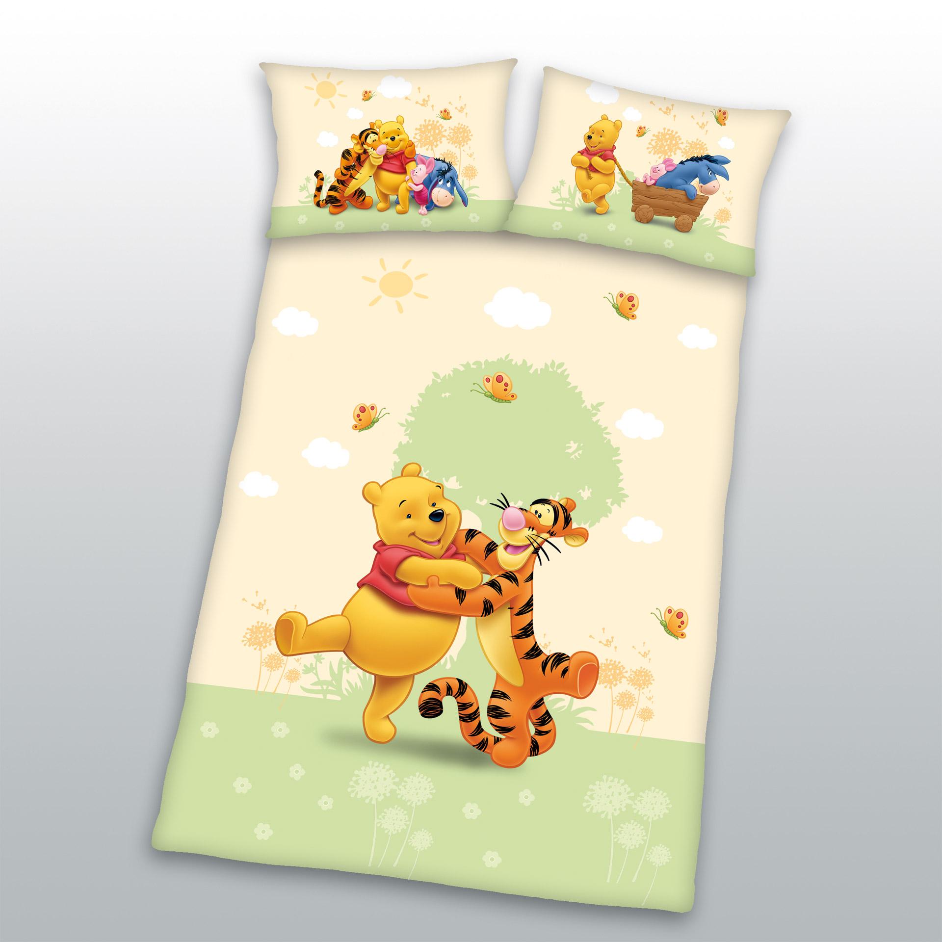 Kinderbettwäsche Winnie Pooh (100x135)