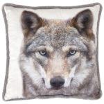 Zierkissen Wolf (45x45)