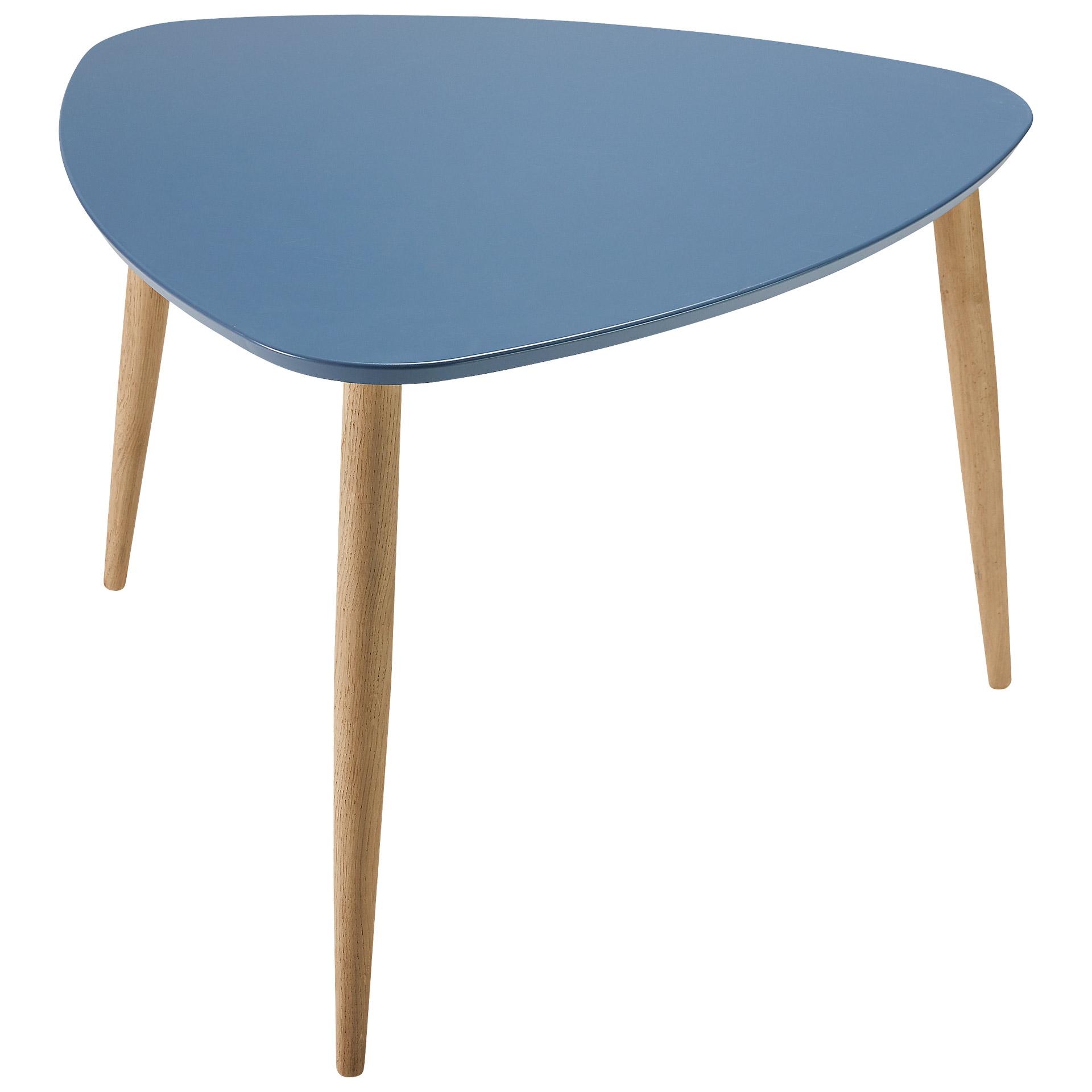 Couchtisch Mocca (50x71,73x70, blau)