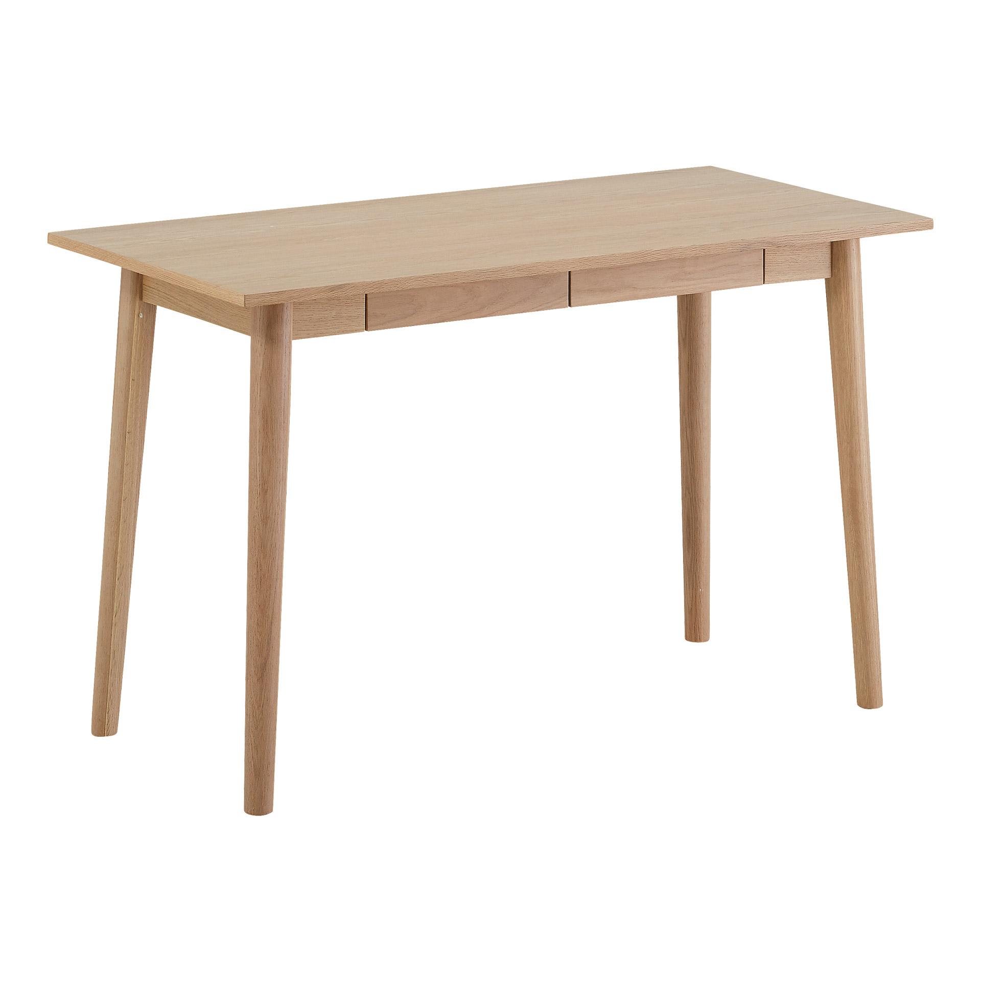 Schreibtisch Gredstedbro (60x120, 2 Schubladen, Eiche)