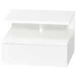 Nachttisch Gadstrup (35x32, Wandmontage, weiß)
