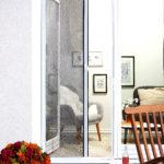 Insektenschutzrollo für die Tür (125x220, weiß)