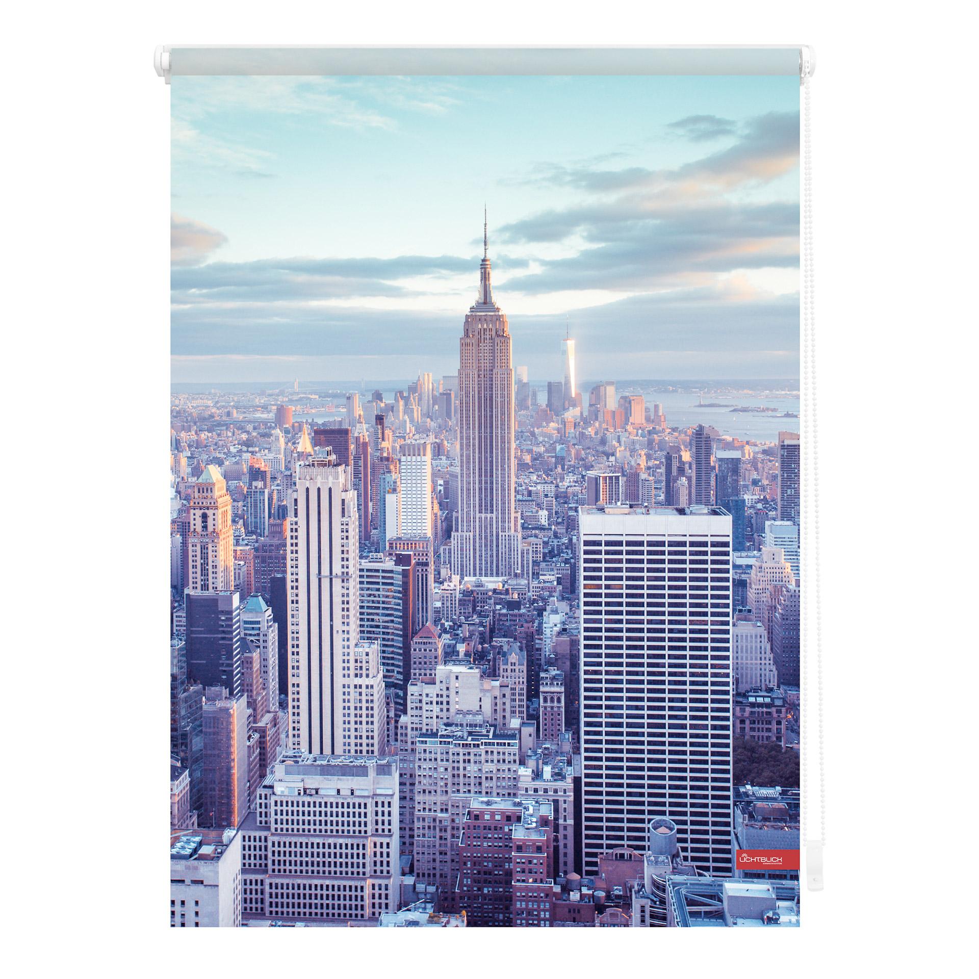 Klemmfix Rollo New York (70x150, blau)