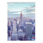 Klemmfix Rollo New York (60x150, blau)