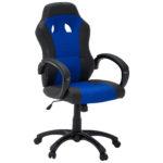 Bürostuhl Idestrup (höhenverstellbar, blau)