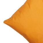 Satin-Zierkissenbezug (40x80, orange)