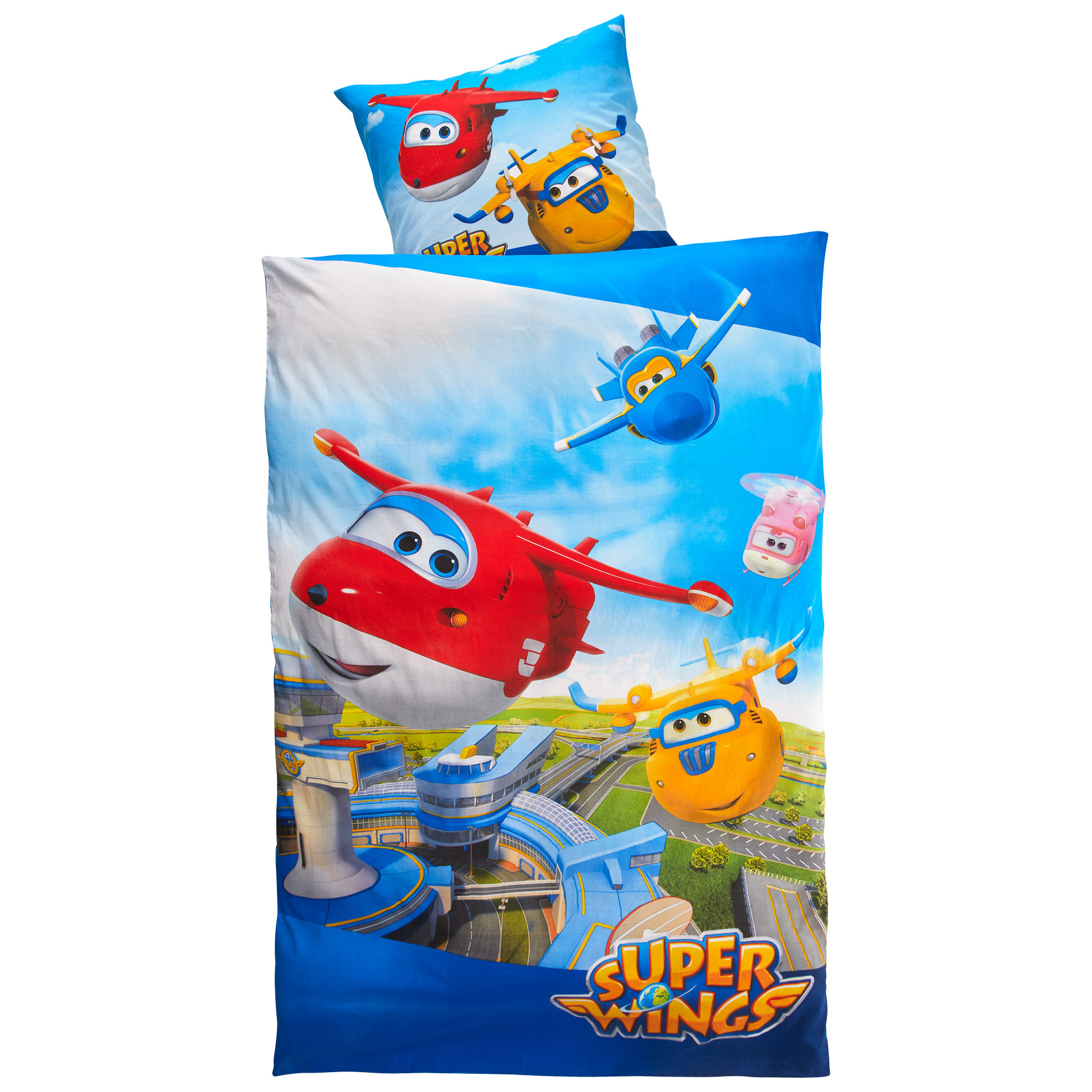 Kinderbettwäsche Super Wings (135x200)
