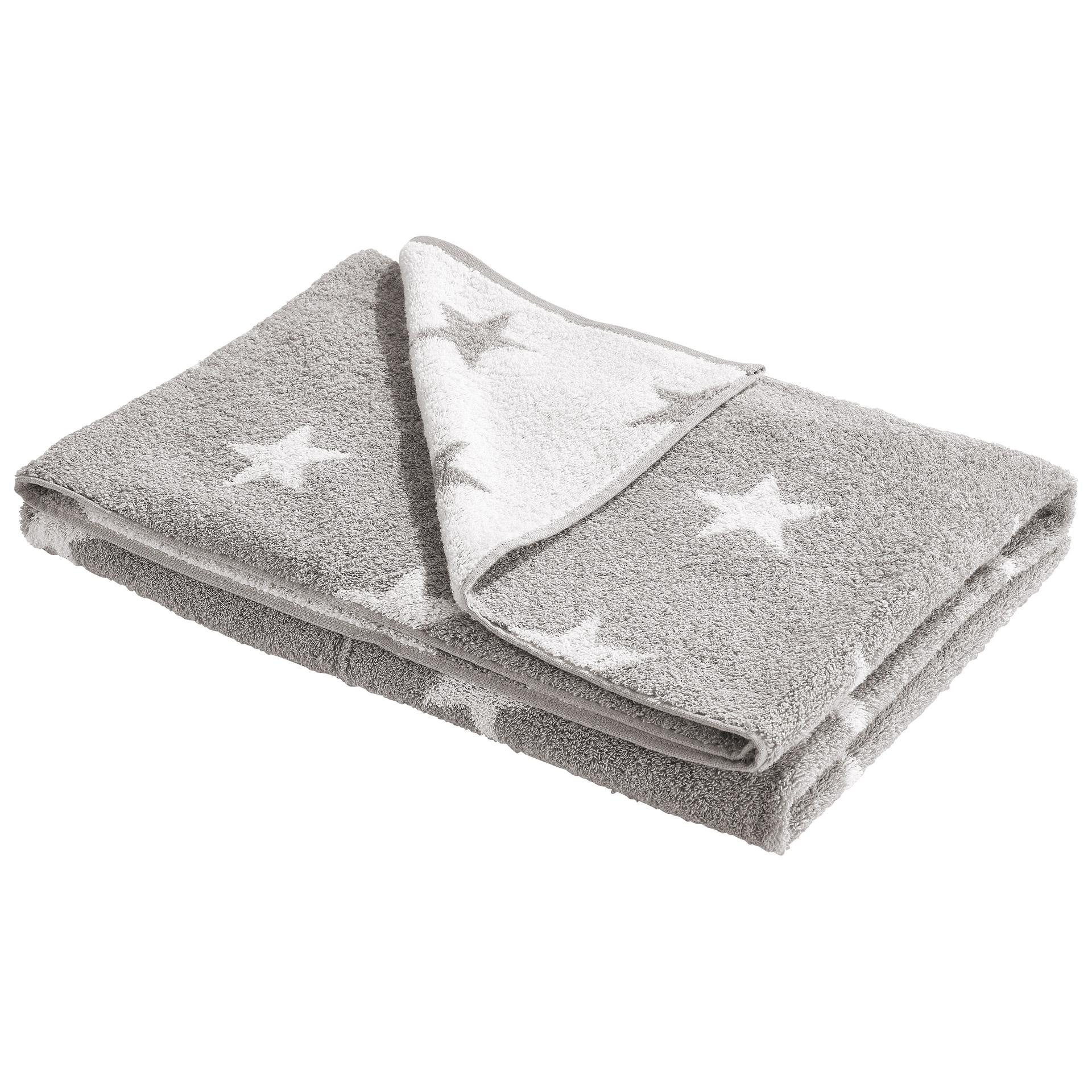 Badelaken Sofil Star (100x150, stone)