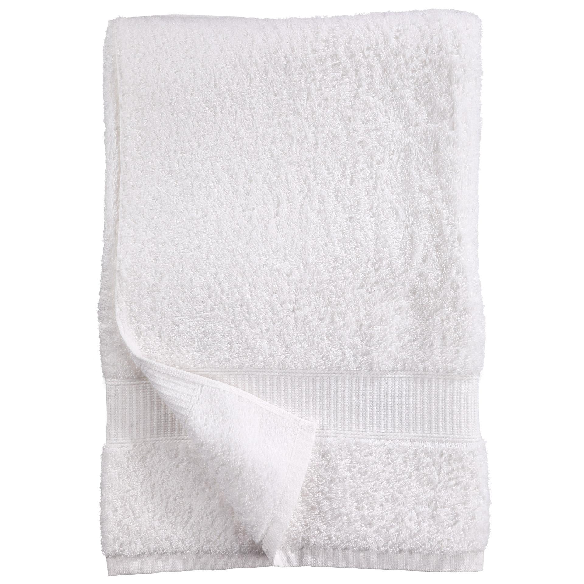 Badelaken KRONBORG® de Luxe (100x150, weiß)