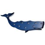LED-Dekofigur Wal (dunkelblau)