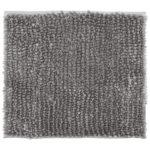 Luxus-Chenille Badematte (45x50, hellgrau)