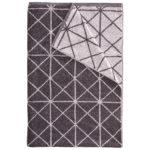 Badelaken Sofil Graphic (100x150, anthrazit)