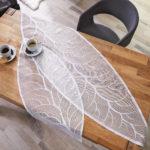 Tischdeko Blattdesign (Läufer, 39x90)