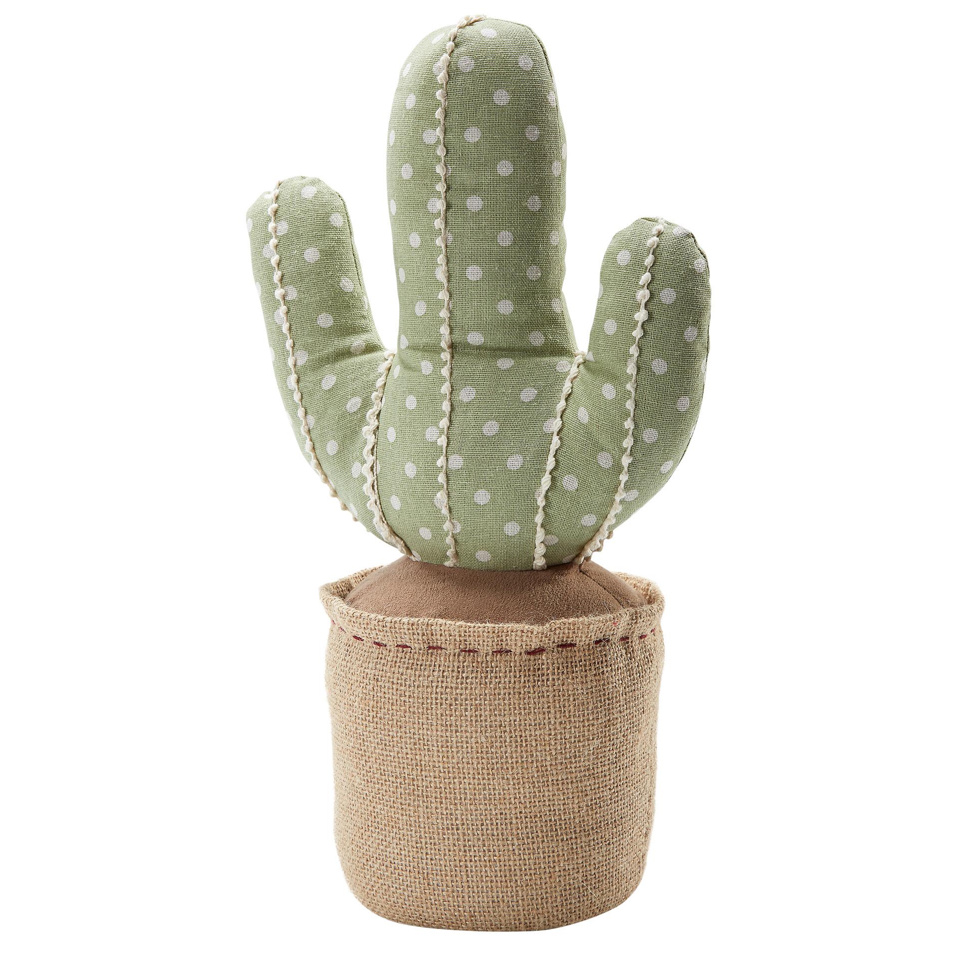 Türstopper Kaktus (35x10x10, grün)