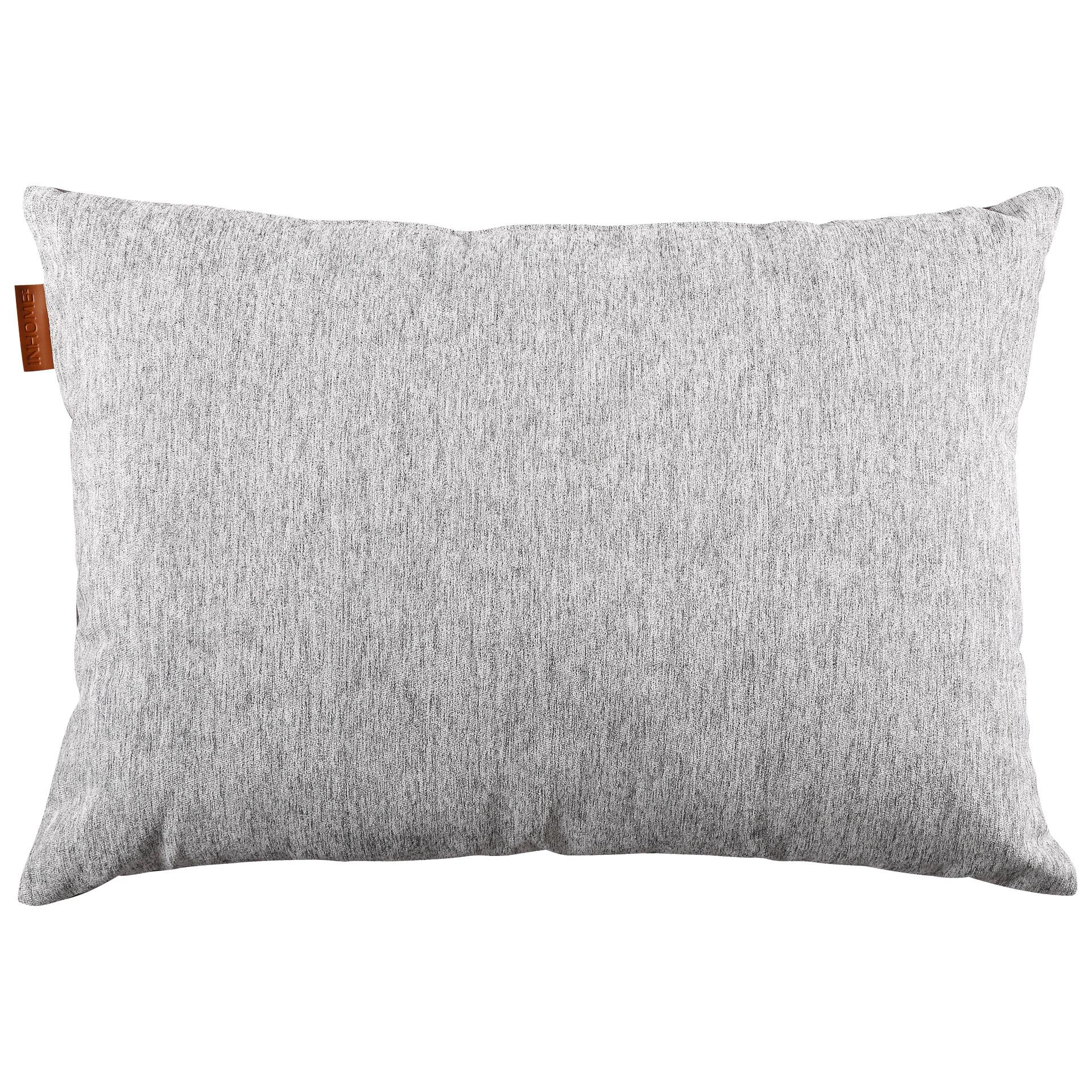 Zierkissen Melange (35x50, grau)