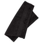 Waschlappen KRONBORG® Classic Line (30x30, schwarz)