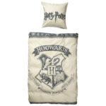 Jugendbettwäsche Harry Potter (135x200, grau)
