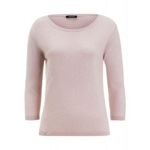 Lurex-Pullover, rosé
