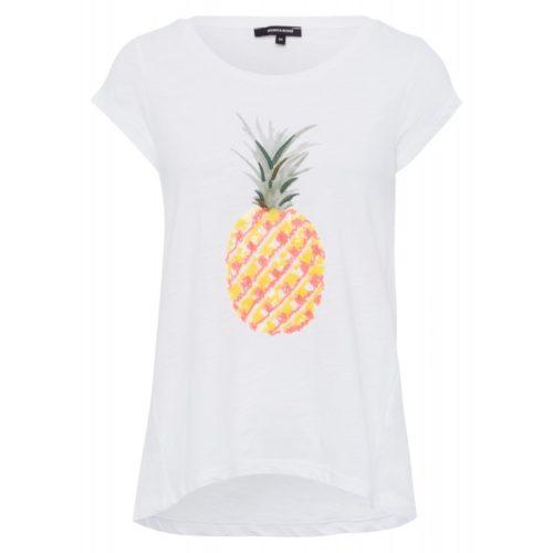 T-Shirt, Pailletten-Ananas