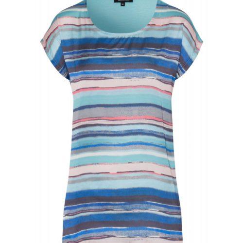 Shirt, Streifenfront