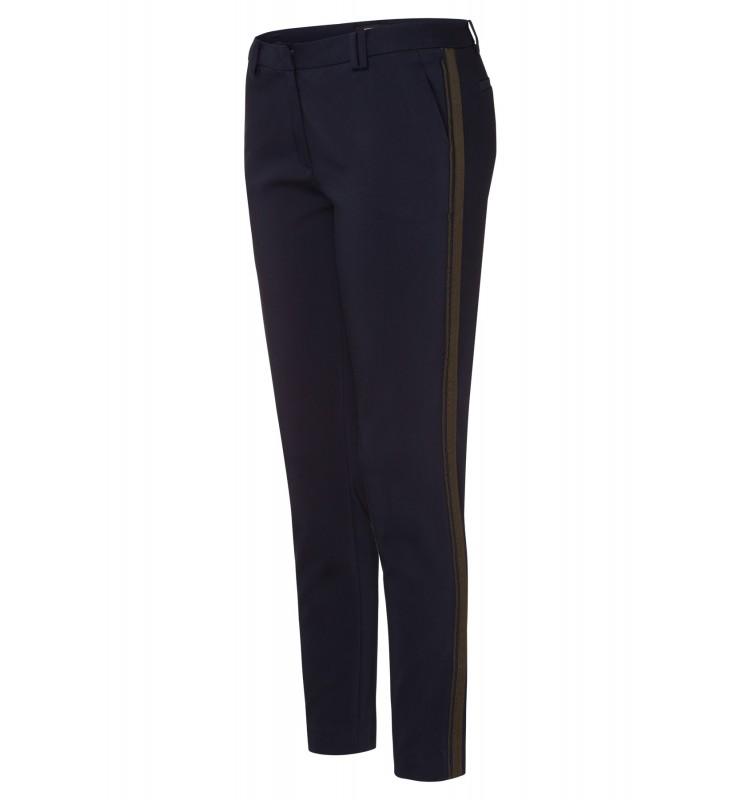 Track-Pants, marine/khaki