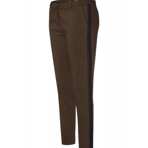 Track-Pants, khaki/marine