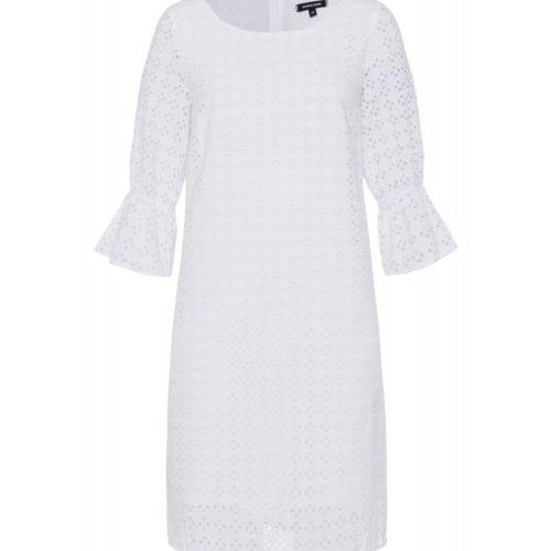 weißes Kleid, Baumwollspitze