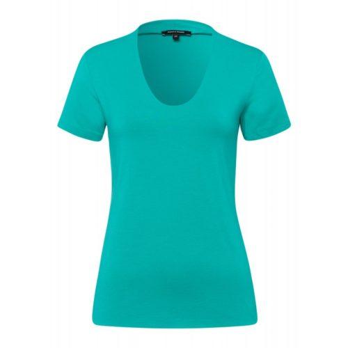 T-Shirt, Baumwolle/Modal, türkis