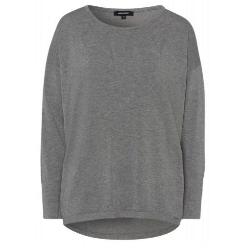 Pullover, Oversize, grau