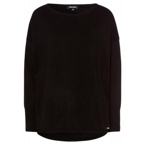 Pullover, Oversize, schwarz