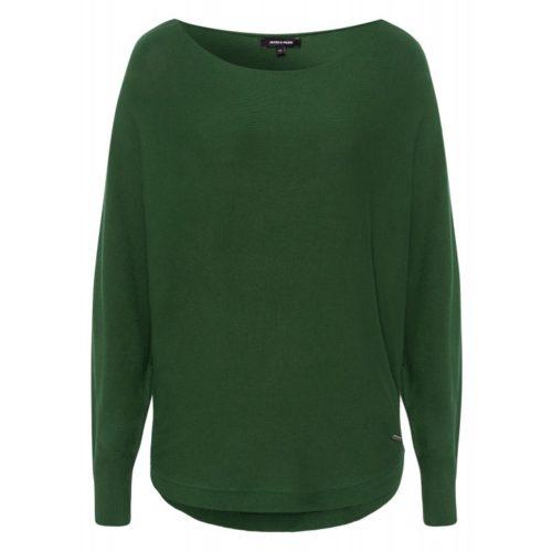Pullover, Fledermausärmel, grün